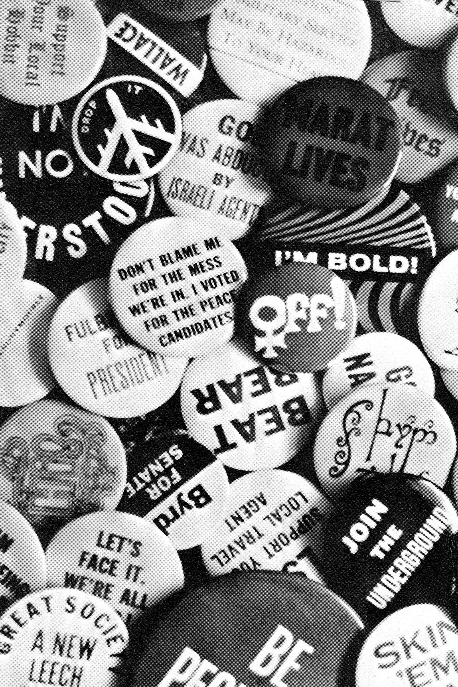 1966-67 was a time of protest, demonstration, expression and change. Image credit: Stanford Quad
