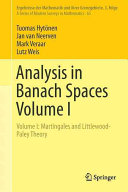 Analysis in banach spaces