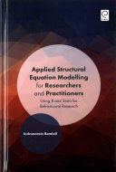 Applied structural equation modelling for researchers and practitioners