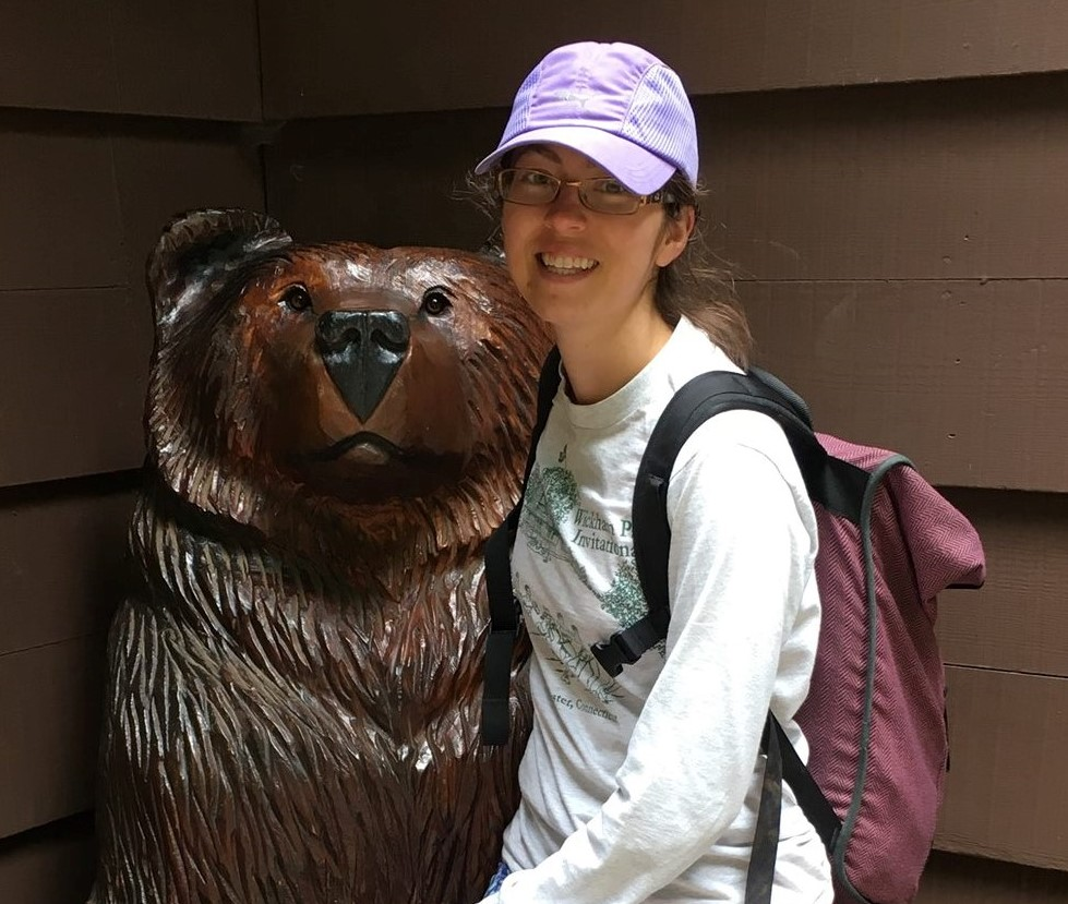 (BTW - I have been informed that this is a neutral bear, not the Cal bear.)