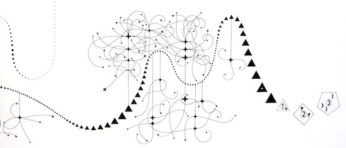 Detail, The Metaphysics of Notation, by Mark Applebaum