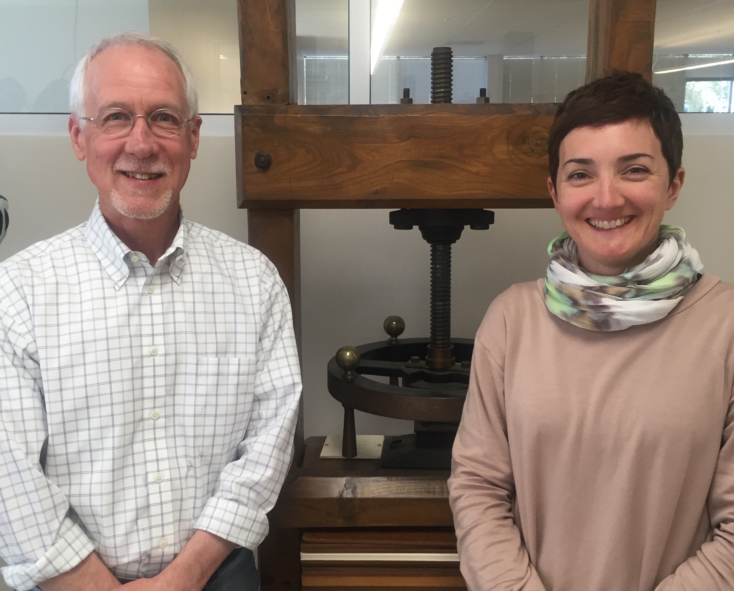David Brock and Aude Gabory, Conservation Services