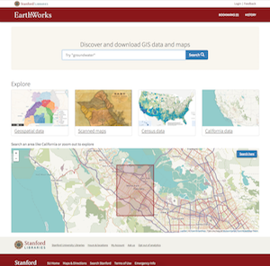 EarthWorks homepage