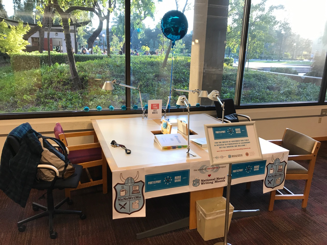 NaNoWriMo at Stanford