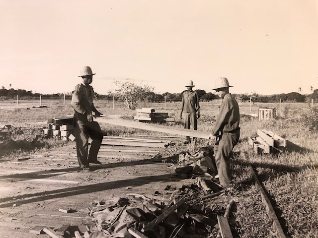 Image of railroad workers on the Tanzania Zambia railroad, circa 1971-1972