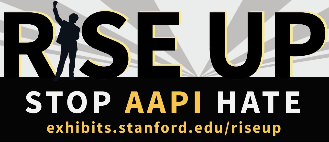 Rise Up against AAPI hate logo