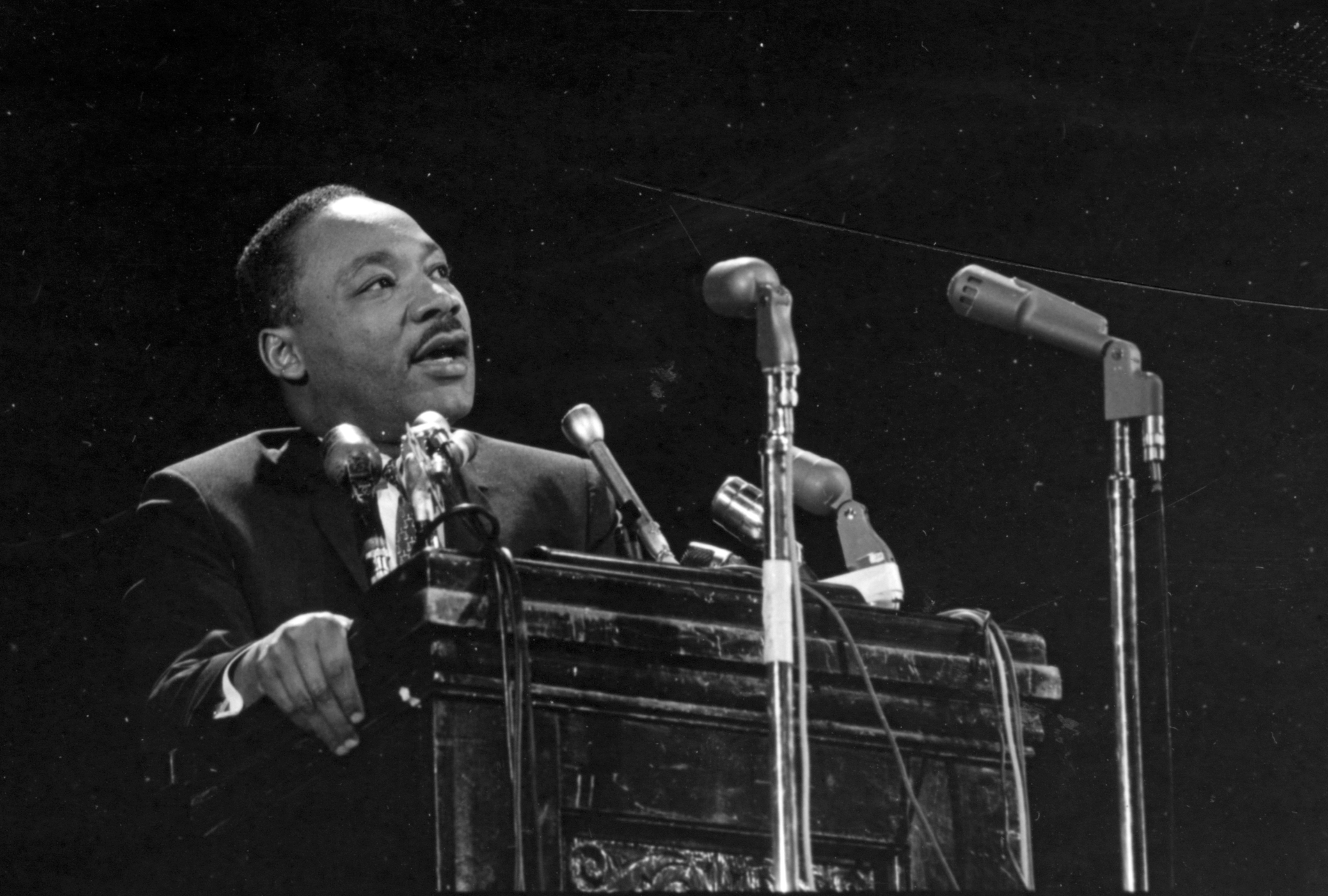 Martin Luther King, Jr. at Stanford, 1967