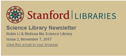 Science Library Newsletter