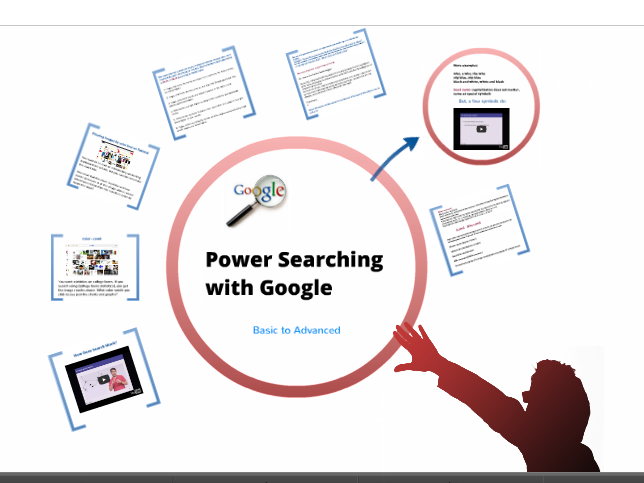 Prezi on Power Searching With Google