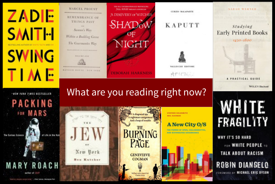 What are you reading right now?