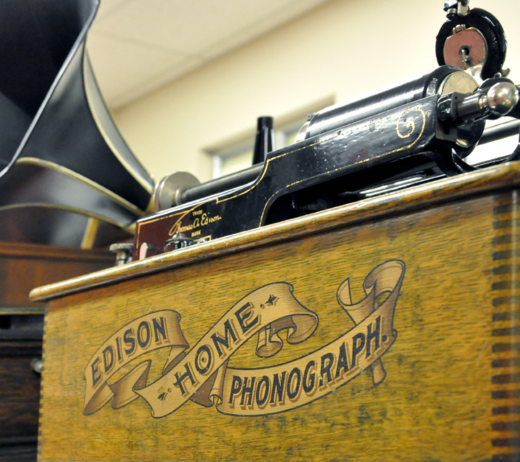 Edison Home Phonograph (detail)