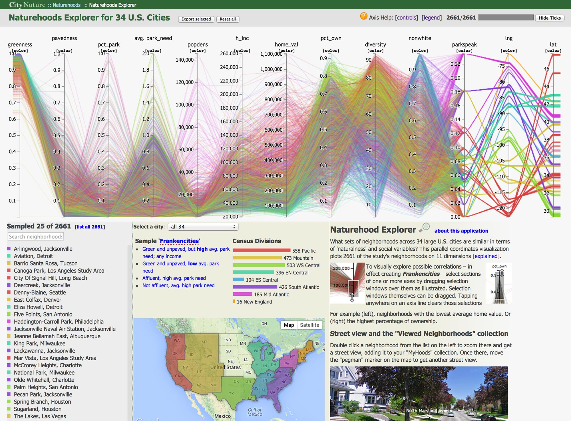 Http Www Nature Com News Data Visualization Science On The Map