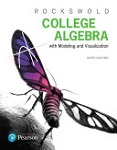 College algebra with modeling and visualization