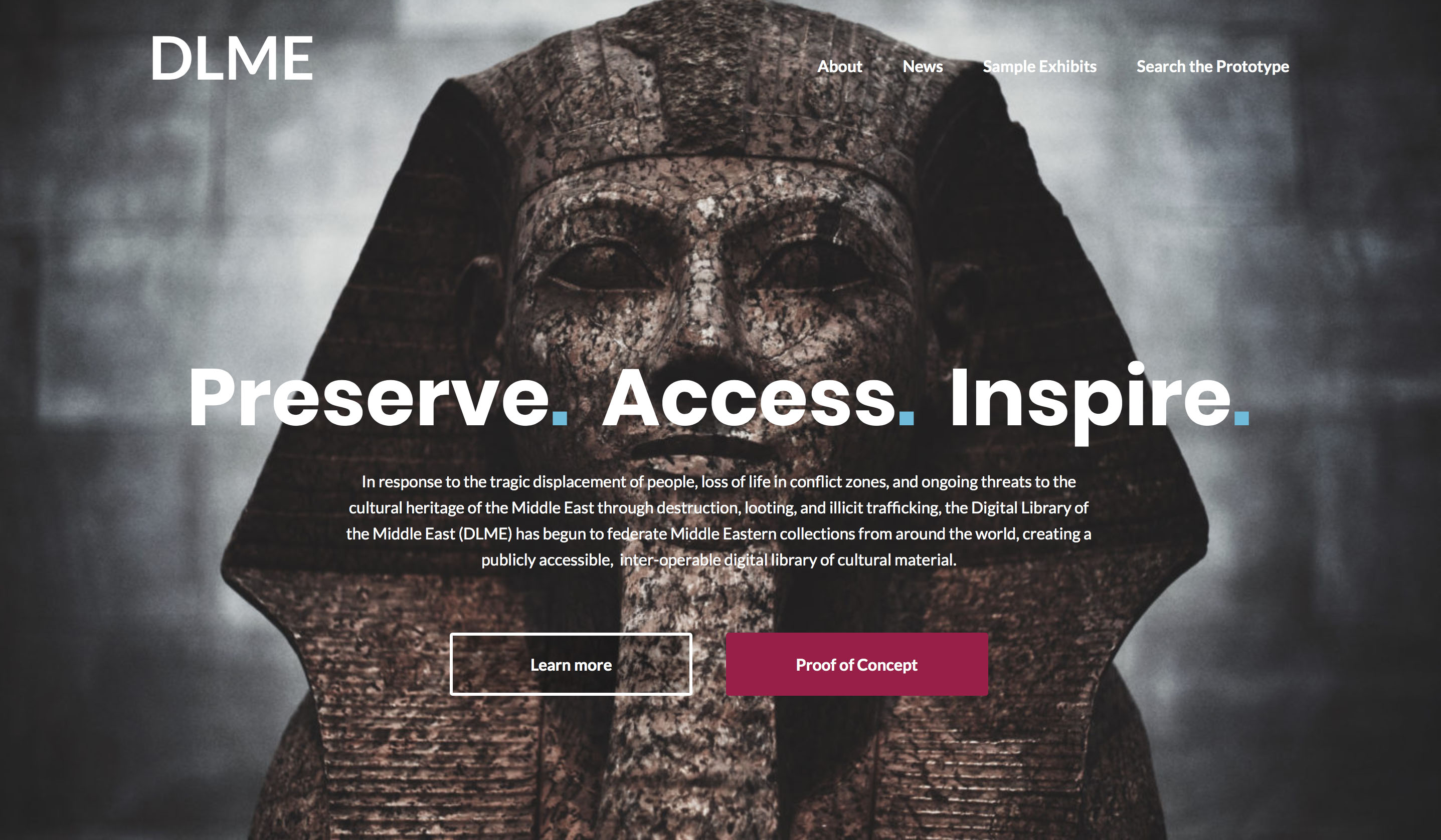 DLME home page