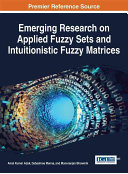 Emerging research on applied fuzzy sets
