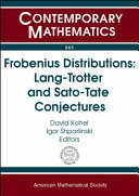 Frobenius distributions