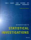 Introduction to statistical investigations