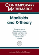 Manifolds and K-theory