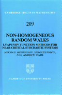 Non-homogeneous random walks