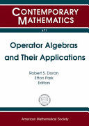 Operator algebras and their applications