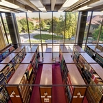 Earth Sciences Library - Photo by Kenneth Chan / SUL