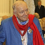 Andrei Voznesenskii at awards ceremony, 2008