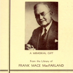 MacFarland Collection book plate