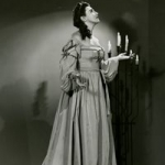 Blanche Thebom as Laura, in La Gioconda