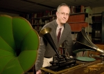 Jerry McBride, head librarian for Braun Music Library and the Archive of Recorded Sound,