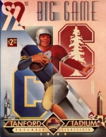 1989 Big Game program