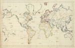 Main Image, Map by Frances Bowen, 1810, Ruderman Conference, Gender, Sexuality, Cartography