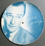 Image of John Wayne paper based disc