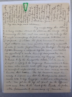 Army Chaplain Walter Marvine papers, 1874-1936 (M1927; Box 2, Folder 1)