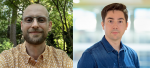 Headshots of Cory Lown and Nick Budak (left to right)
