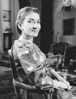 Maria Callas, from the television talk show Small World (1958), hosted by Edward R. Murrow.