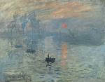 Claude Monet, Impression Sunrise (1872)