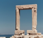 Naxos temple gate
