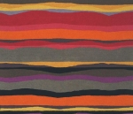 Masland abstract striped rug, as example of parallel lines