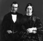 Leland and Jane Stanford, 1850