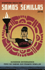 Stanford Raza Day 2015 poster