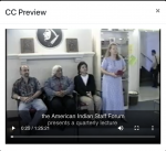 Image is a still from a video with captions in the 3play editor