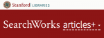 SearchWorks Articles+ header image