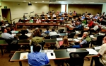 First meeting of Stanford's 50th Faculty Senate