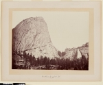 Mount Broderick and Nevada Fall, Yosemite