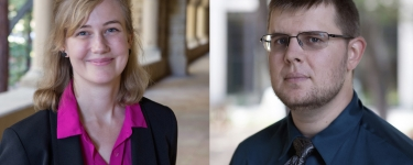 Alexandra Krogman, Engineering Librarian & Zac Painter, Engineering Librarian