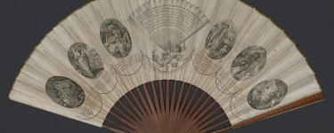 Lady's advisor fan. 1797. Stanford Libraries Department of Special Collections