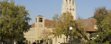 Stanford campus, Clock Tower and Hoover Tower