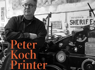 Peter Koch exhibition poster