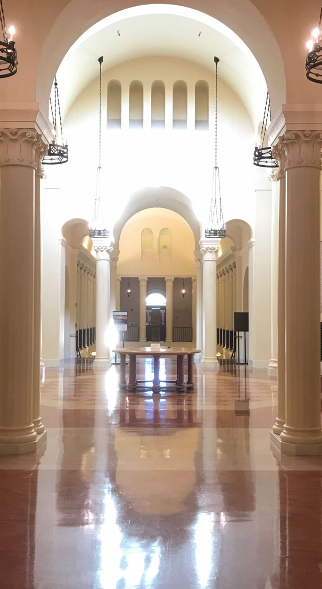 Munger Rotunda, Green Library