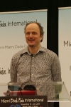 American writer Jeffrey Eugenides at the Miami Book Fair International 2011